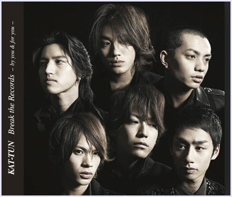 KAT-TUN,『Break the Records -by you & for you-』